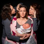 NightFeed2 - photo by Dahlia Katz featuring Ginette Mohr and Corinne Murray and Sarah Joy Bennett
